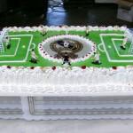 Tarta Campo Fútbol
