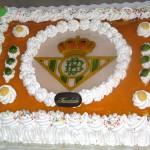 Tarta escudo fultbol